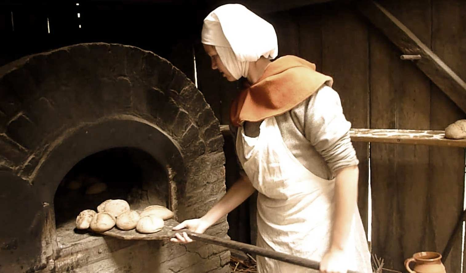 medieval oven