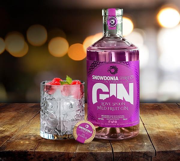 love spoon wild fruit gin